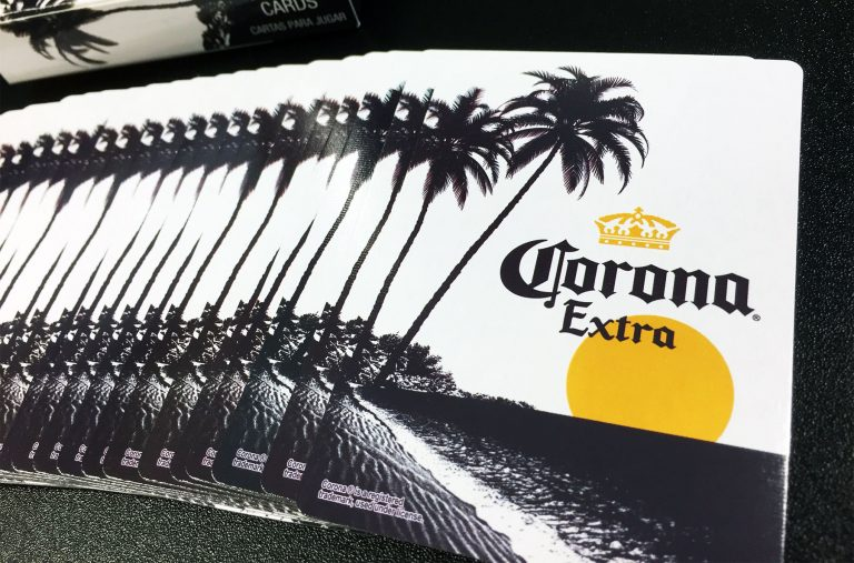 Corona Playing Cards, Corona Extra Playing Cards, Corona Beer, Corona Extra Beer, Cerveza, Tarjetas de Corona