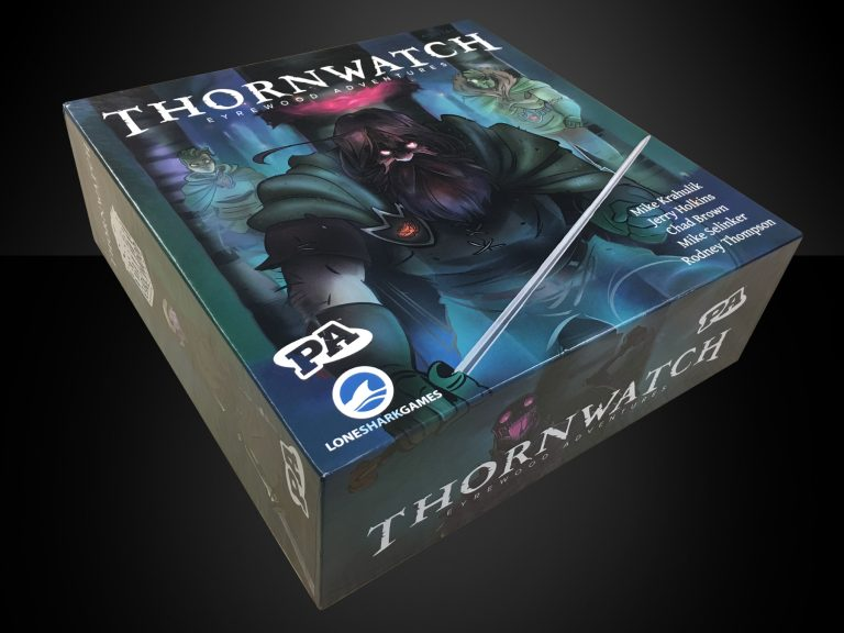 Thornwatch Board Game, Penny Arcade Board Game, Lone Shark Games, Thornwatch Eyrewood Adventures